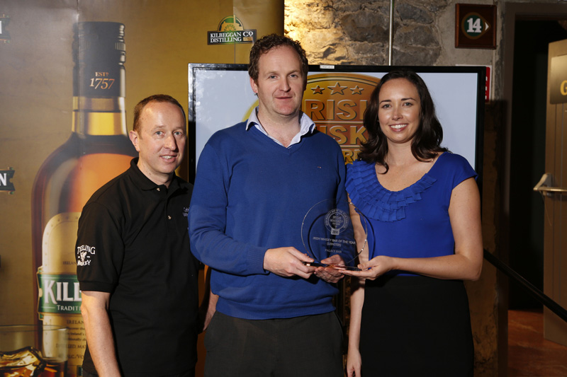 Palace Bar Fleet Street wins Best Irish Whiskey Bar in Leinster